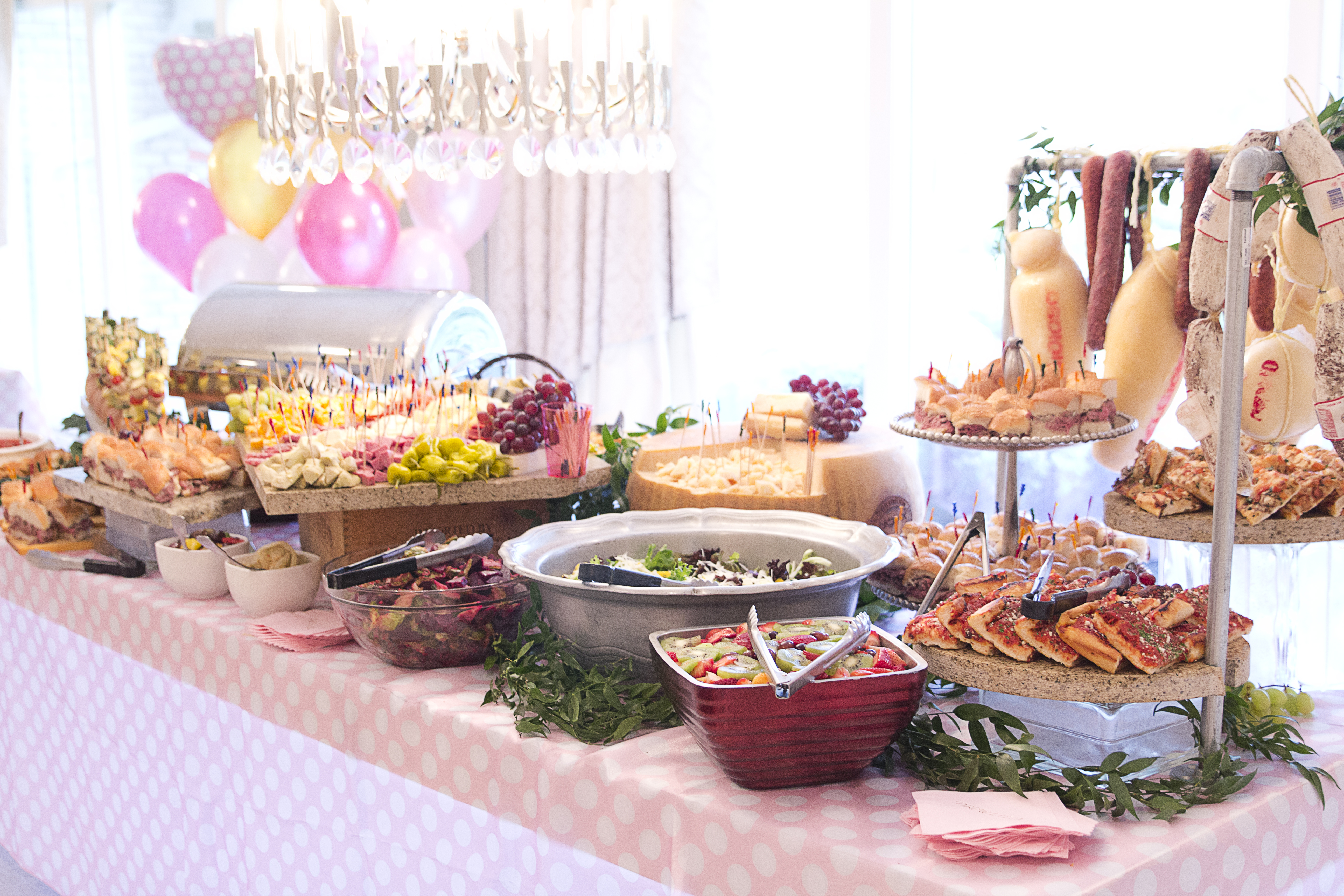 Alesci - Party Spread - Baby Naming - Shower - Catering
